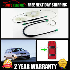 SKODA FABIA WINDOW REGULATOR REPAIR CABLE KIT FRONT LEFT NSF