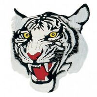 """White Tiger Martial Arts Patch 2 Sizes - 4"""" & 10"""""""