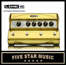 LINE 6 DM4 DISTORTION FLOOR STOMPBOX MODELER 16 OVERDRIVE AND DISTORTION EFFECTS