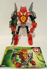 100% Complete & Retired Lego Hero Factory Furno 3.0 (2191) w/ Instruction Manual