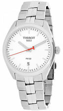Tissot PR 100 NBA Collection Silver Dial Index Steel Men Watch T1014101103101