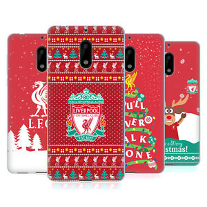 OFFICIAL LIVERPOOL FOOTBALL CLUB FESTIVE CHRISTMAS GEL CASE FOR NOKIA PHONES 1