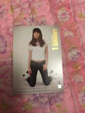 SNSD Taeyeon Rare Etched OFFICIAL Starcard  Card Kpop k-pop Girls Generation