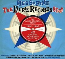 He's So Fine-Laurie Records Story 1961-62 2-CD NEW SEALED Dion/Jarmels/Chiffons+