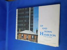UP AND DOWN HAMILTON CANADA BOOK 1770 TO 1970 HISTORY IN PICTURES VINTAGE
