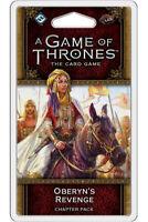 Jeu Cartes LCG A Game of Thrones Extension Oberyn's Revenge  JCJ TCG English