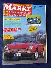 Fiat 124 von 1966 - Titel-Story auf 8 Seiten - Oldtimer Markt Heft 4/1991