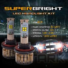 LED 80W 7800LM LED Kit CREE XT-E 6000K Headlight Dual Hi Lo Bulbs - H13 9008