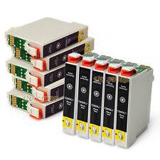 10x T200XL Ink Cartridge Black for Epson XP310 XP400 XP300 XP200 XP100 Non-OEM
