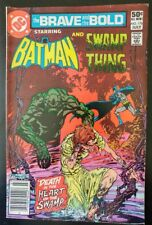 The BRAVE and the BOLD #176 Batman Swamp Thing (1981 DC Comics) GD Book