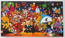 Hanna Barbera ALL TOGETHER NOW PRINT Quest Space Ghost Scooby Splits Wacky Races