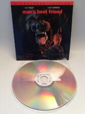 Laser Disk, Man's Best Friend, Horror, Allie Sheedy, Lance Henriksen, Free Ship