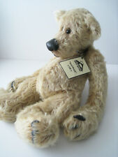 Lovely Handmade Mohair Bear Called Nathan By Eddie Bear (one of a Kind)