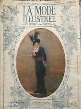 MODE ILLUSTREE SEWING PATTERN April 13,1913 - ladies Dresses and costumes