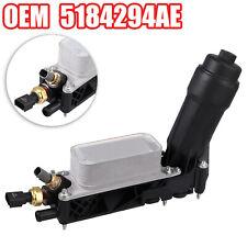 DODGE RAM CHRYSLER JEEP 3.6L Oil Filter Adapter Housing OEM 5184294AE D C NEW