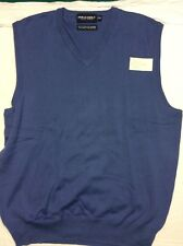NEW Ralph Lauren Polo Golf Cashmere-Cotton Vest Men's M