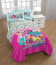Shopkins 4-Piece FULL Size Sheet Set NEW