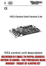 Wurlitzer Ivc2 Control Unit V2.4x (90 pages)