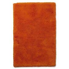 BHS Cotton Loop Bath Mat - Bright Orange