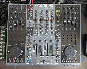 Allen & Heath Xone 4D professional DJ Mixer Controler Traktor Pro certified