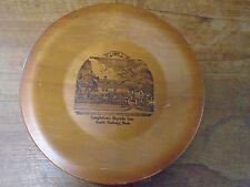 Longfellow's Wayside Inn South Sudbury Mass Wood Plate 1686 Country Store