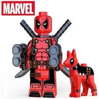 Deadpool & Shuggums Dog Marvel Avengers Custom Minifig Mini Figure 201