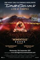 David Gilmour Live At Pompeii poster - 11 x 17 inches - Pink Floyd