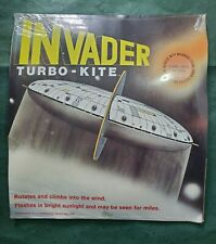 Rare Vintage Toy Invader Turbo Ufo Kite 1976 Sealed in Original Packaging