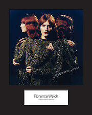 FLORENCE AND THE MACHINE #2 10x8 SIGNED Mounted Photo Print - FREE DELIVERY