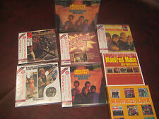 MANFRED MANN MIGHTY GRAVEY 5 OBI Replica RARE JAPAN CD'S  + EP BOX +ALBUM SERIES
