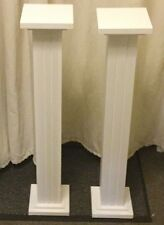 PILASTRI STAND Matrimonio Fiore 2x32 pollici hand made Piedistalli STAND