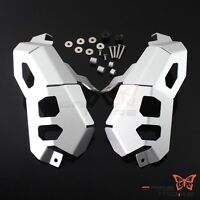 Motorcycle Silver Engine Guard Cover Protector For BMW R1200 GS ADV 2013-2016