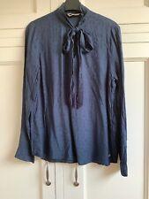 Garcia Jeans Blue Blouse Size L