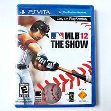 Mlb 12: el show (Sony PlayStation Vita) Nueva Sellado de fábrica