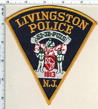 Livingston Police (New Jersey) Shoulder Patch - new from 1992