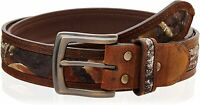 Nocona Men's Camo Center Inlay Belt