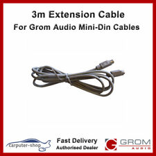 Grom Audio 3m Mini-Din extension cable for EXT port accessories