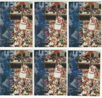 1995 Upper Deck Michael Jordan Chicago Bulls #359 HOF ( 6 ) Card Lot