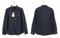 NEW LEE 101 SAW DENIM SHIRT  HEAVY DENIM  DARK BLUE REGULAR FIT S/M/L/XL