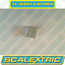W9113 Scalextric Spare Set of 5, 3mm thick rectangular traction magnets