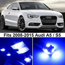 14 x Premium Blue LED Lights Interior Package Upgrade for Audi A5