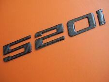Real Carbon Fiber Trunk Letter Emblem Badge for BMW 520i E12 E28 E34 E39 E60 F10