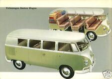 1960 Volkswagen Bus, VW Van, Refrigerator Magnet