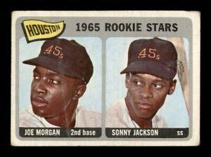 1965 Topps Set Break # 16 Morgan-Jackson Rookie Stars GD *OBGcards*