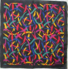 Magnífico bufanda cerrada MISSONI poliéster EN BUEN ESTADO vintage 37 x 37 cm