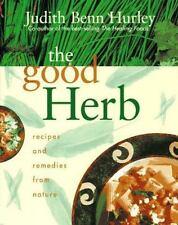 The Good Herb Judith Benn Hurley (1995, Hardback) ISBN 0688113249 Signed 1st Ed