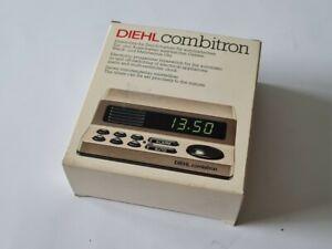 Diehl Combitron Weck- und Mehrtermin Uhr, ungenutzt, aus den 80ern, in OVP !!!