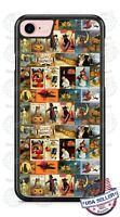 Happy Halloween Vintage Poster Phone Case Cover For iPhone Samsung LG Google