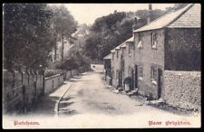 Flint Stone Houses, Patcham, Brighton. 1905 Vintage Postcard, Free UK Post
