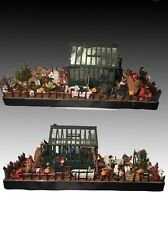 Carol Webb Halloween Haunted House Garden Room Box Full Of Dollhouse MINIATURES